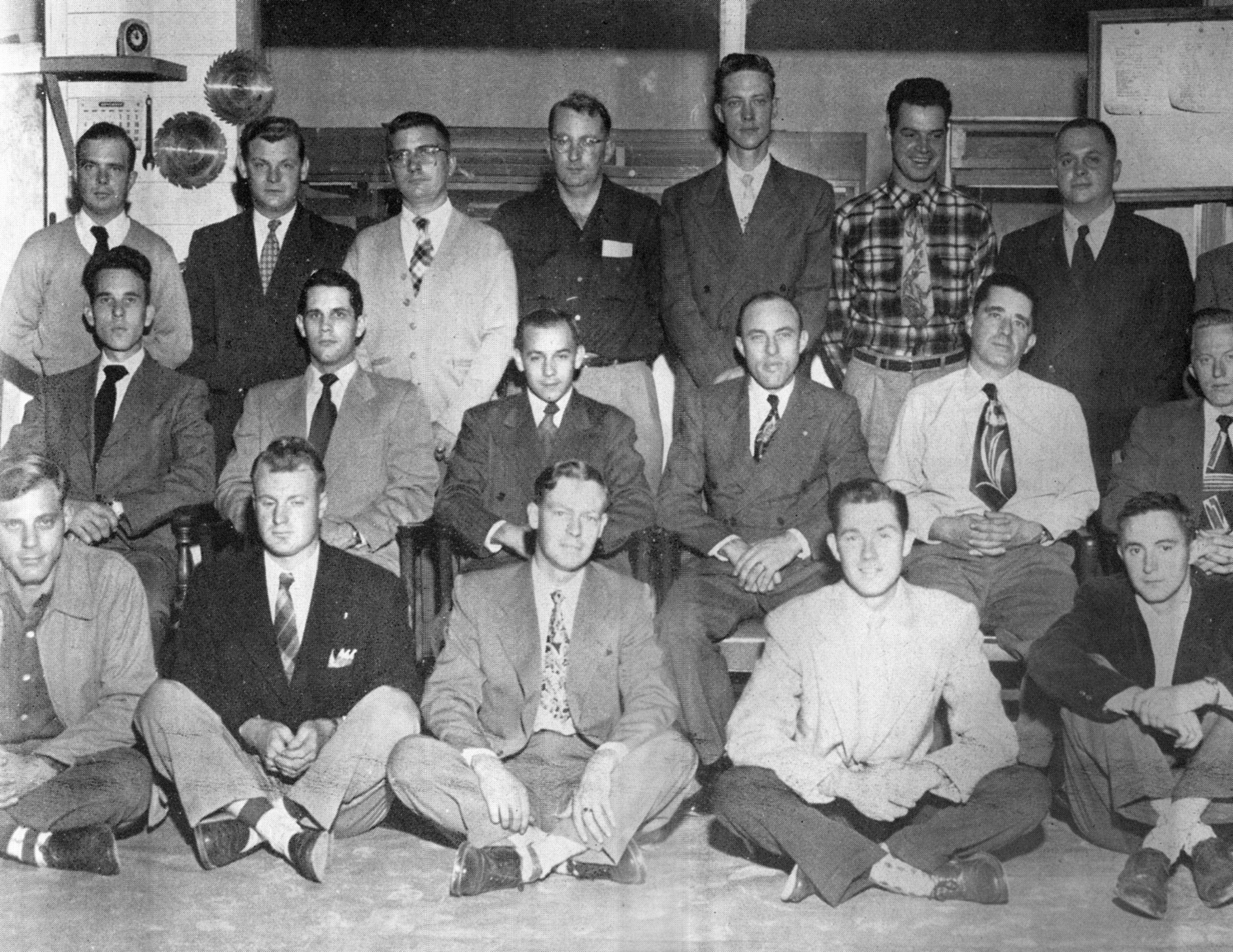 1951 Cadet School Magee 1st school