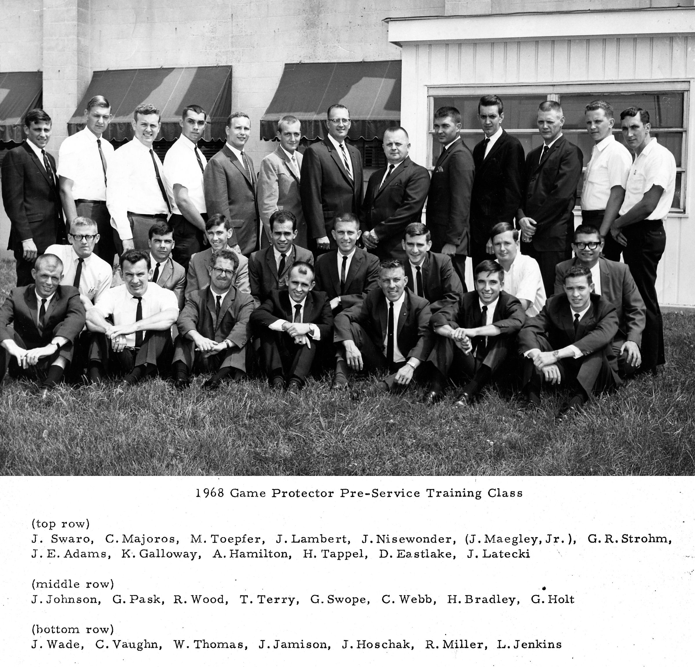 1968 Cadet class