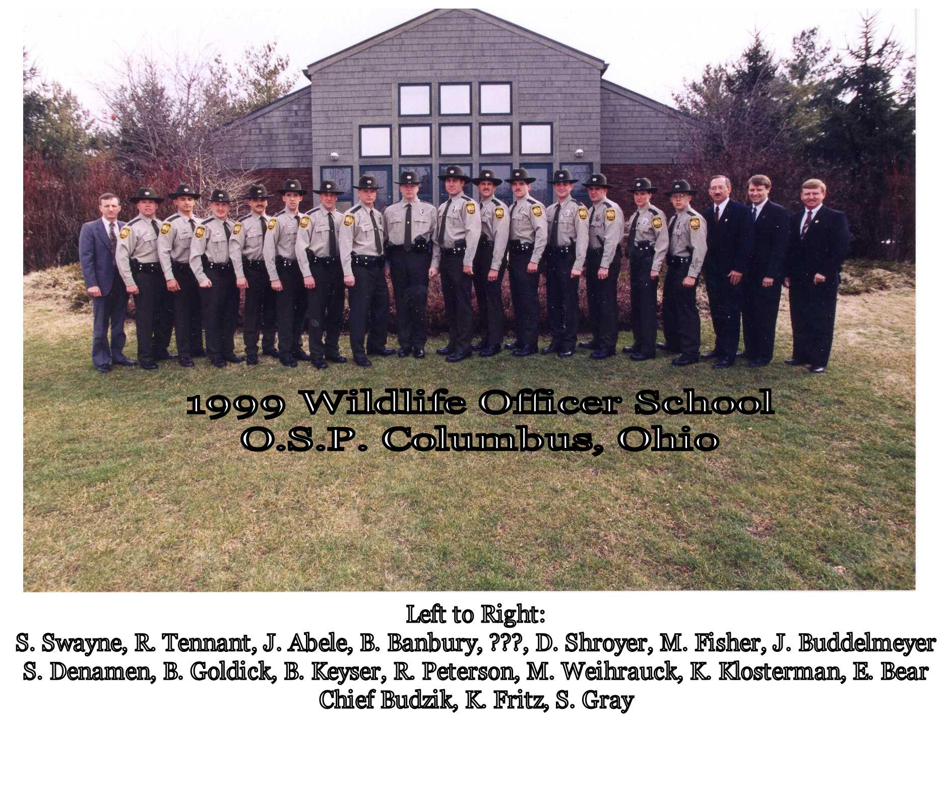 1999 Cadet OSP