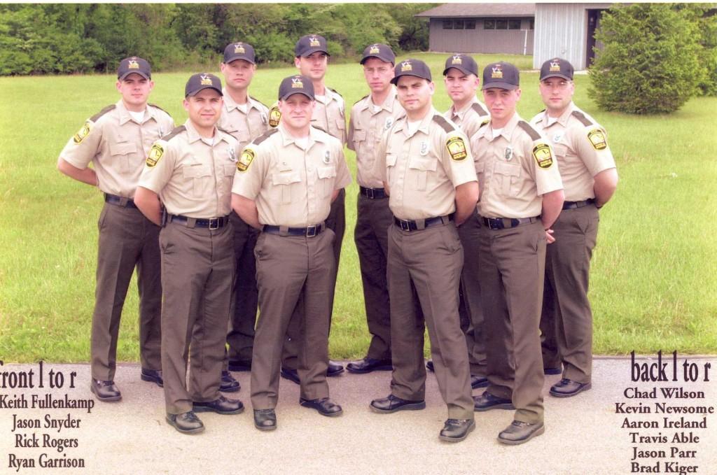 2001 Cadet School OPOTA