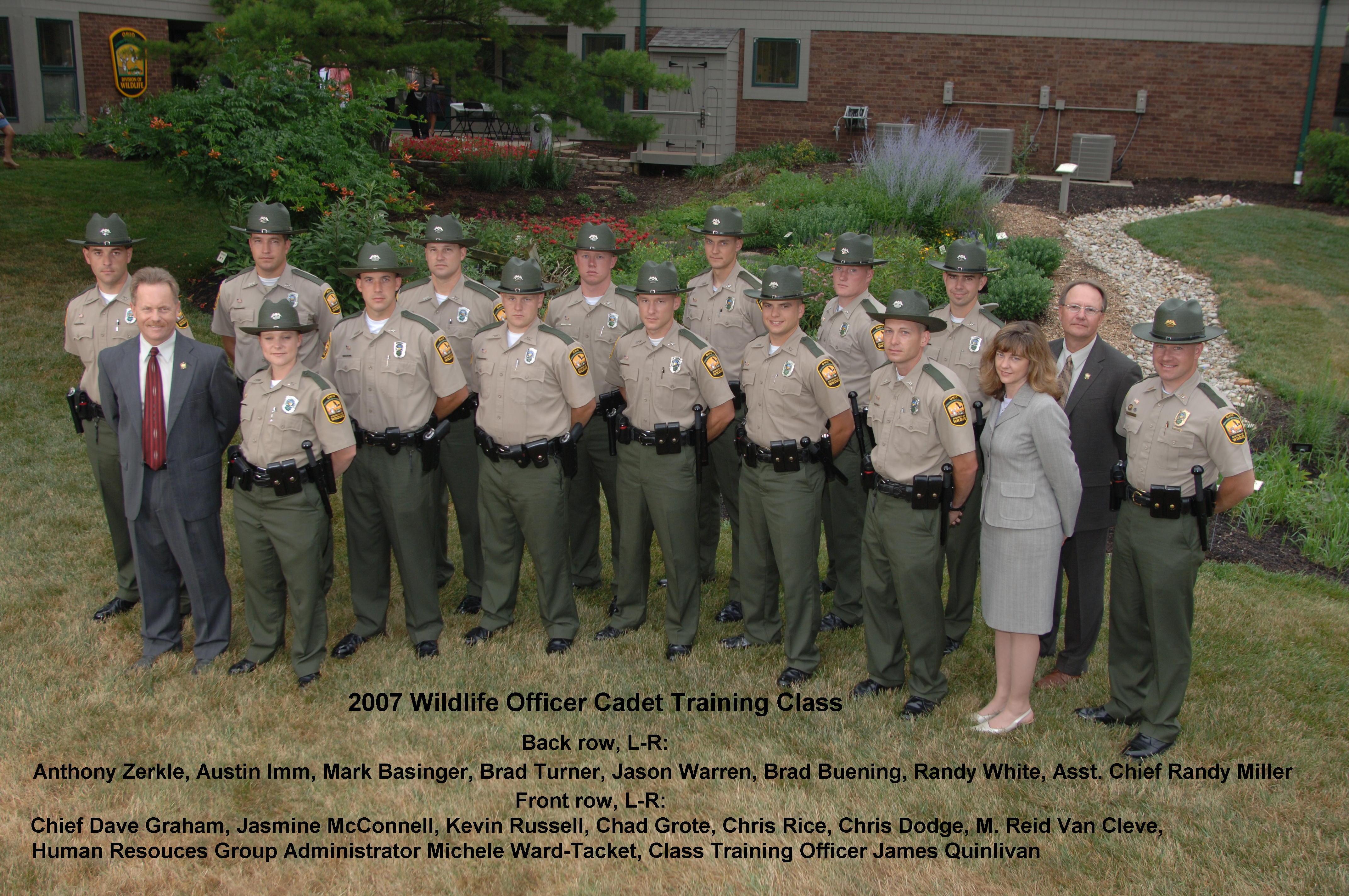 2007 Cadet Class OPOTA